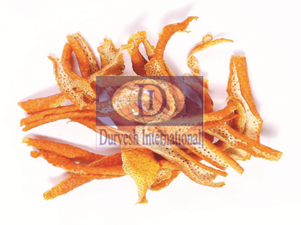Citrus Reticulate Orange Peel Mandarinier