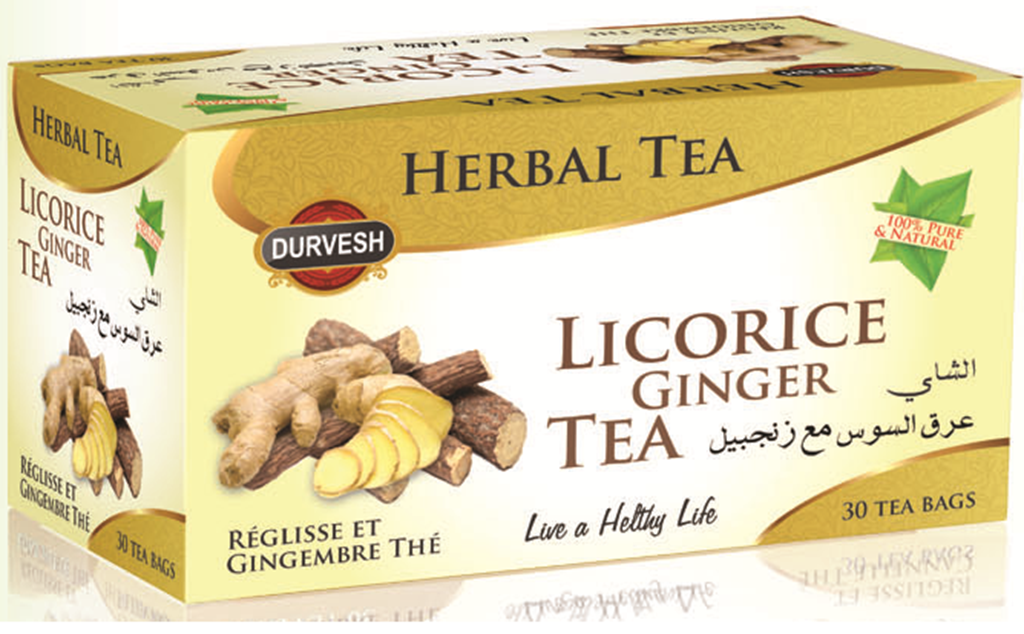 Licorice Ginger Tea